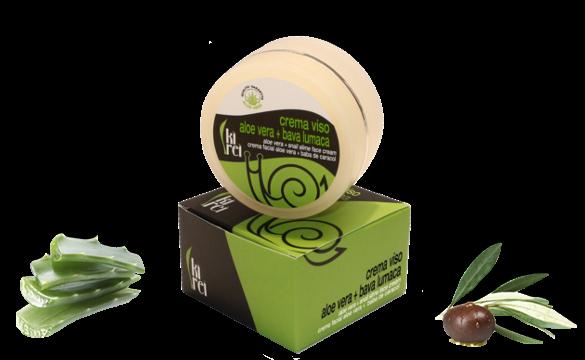 Crema Viso Aloe vera + Bava di Lumaca