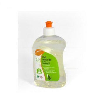 Produit vaisselle super concentré à l'orange biologique