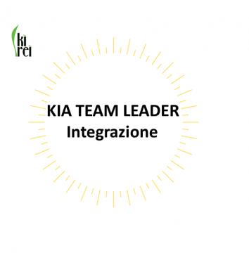KIA TEAM LEADER – Integrazione